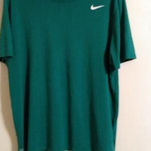 Nike green dri-fit t-shirt